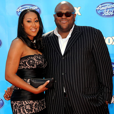 Ruben Studdard with cool, Wife Surata Zuri McCants