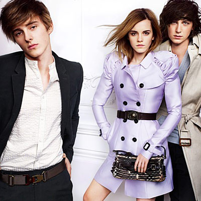 burberry ad - emma watson