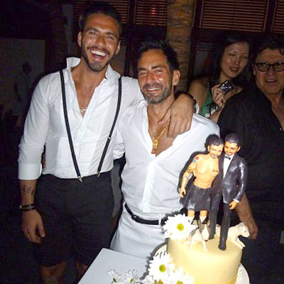 MARC JACOBS MARRIED
