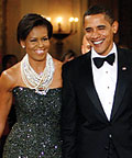 Michelle Obama, Peter Soronen, Tom Binns, February 22, 100 Days of Style