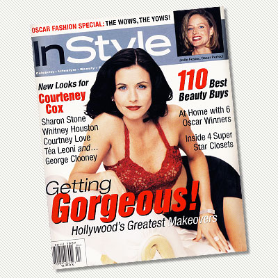 April  1997 - Courteney Cox