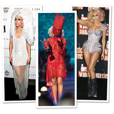 Lady Gaga - Jean Paul Gaultier - Alex Noble - Keko Hainswheeler - Viktor &amp; Rolf - Atsuko Kudo - House of Blue Eyes - Tour de Force - Video Music Awards