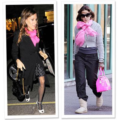 Sarah jessica Parker - scarves - scarf