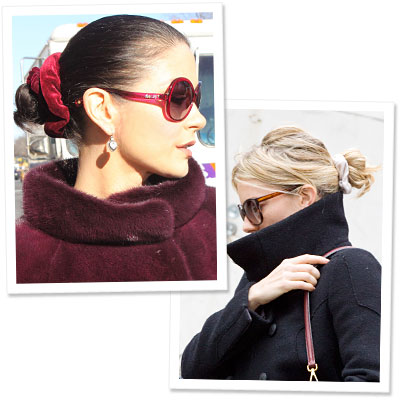 Spotted: Stars Wearing Scrunchies!