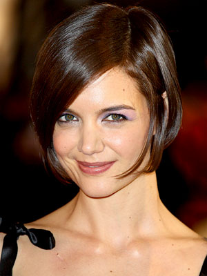 Star Cuts That Work For You, The Short Bob, Katie Holmes