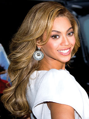 beyonce brown hair color