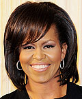 Michelle Obama - Short Hairstyles - Get Hollywood Hair
