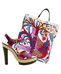 Boutique 9 Sandals & Binetti Tote