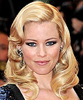 Daily Beauty Flash, Side Part, Elizabeth Banks