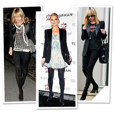 Kate Moss in Kate Moss Topshop - 7 Stars Who Shop Their Closets - Star Style