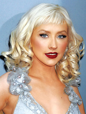 Christina Aguilera Mouth Open
