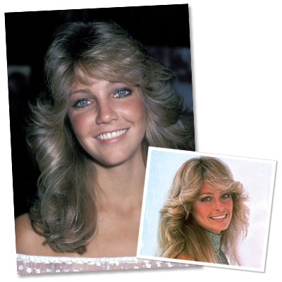 Heather Locklear - Farah Fawcett Hair
