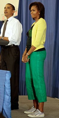 Michelle Obama s pants up ass