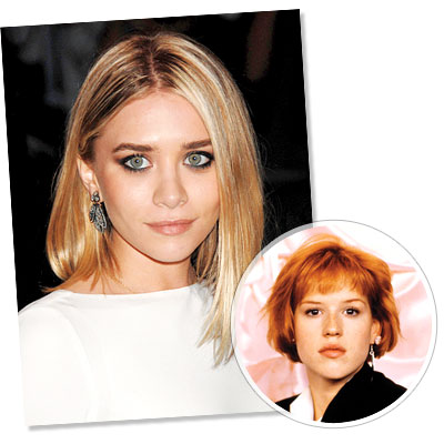 The Bob hairstyle - Ashley Olsen - Molly Ringwald - The Bob - Classic Hairstyles