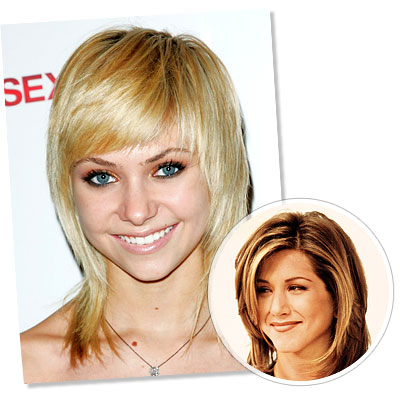 The Shag hairstyle - Taylor Momsen - Jennifer Aniston - The Shag - Classic Hairstyles - Hair