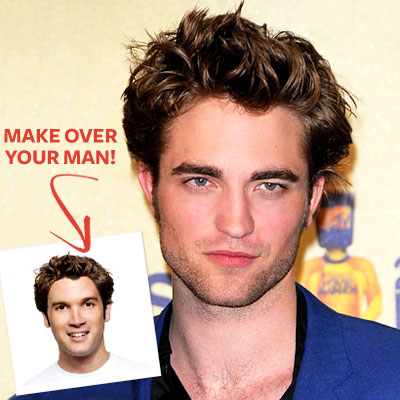 Robert Pattinson - Barak Obama - Hollywood Makeover - Star Hairstyles