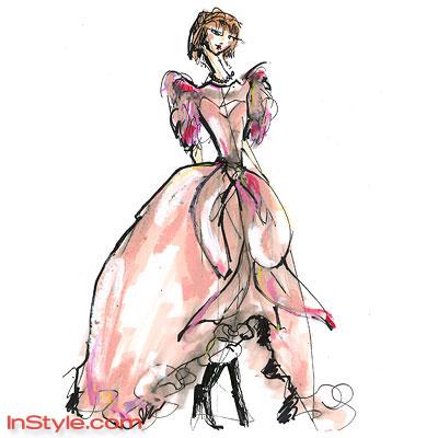 эскизы одежды рисунки