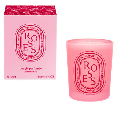 Breast Cancer Awareness - Diptyque Pink Roses Candle
