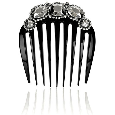 Bottega Veneta Embellished Hair Comb