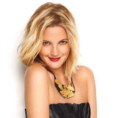 Drew barrymore october 2009 cover hairstyles instyle