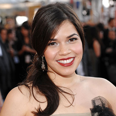 america ferrera hair color. America Ferrera-Red Lipstick