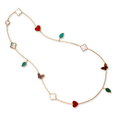 Van Cleef & Arpels Lucky Alhambra Necklace