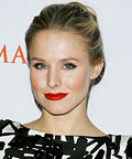 Kristen Bell-Red Lipstick