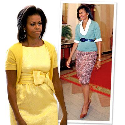 Michelle Obama Fashion Photos on 091226 Instyle      6                     Dakota