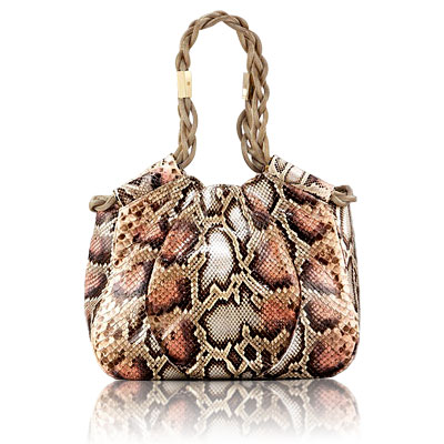 Christian Louboutin Giuletta Python Shoulder Bag