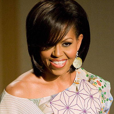 Michelle Obama - 2009 - Michelle Obama - Transformation - Hair