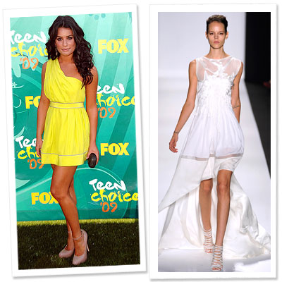 Lea Michele - Golden Globes Gowns We'd Love to See - Golden Globes 2010
