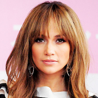 Jennifer Lopez - Top Hair Try-0ns of 2009 - Shaggy Layers - Bangs -