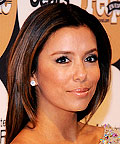 Daily Beauty Flash, Eva Longoria Parker, Auburn Highlights