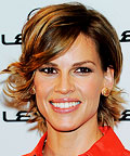 Daily Beauty Tip, Hilary Swank