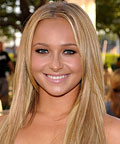 Hayden Panettiere  - Sleek Straight Hair
