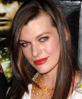 Milla Jovovich - Coral Lip-Gloss