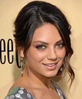 Mila Kunis-Pretty Peach Blush-Makeup Tip