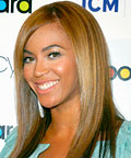 Beyonce-Hairstyle-Black Hair