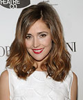 Rose Byrne-Red Lipstick