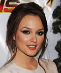 Leighton Meester-Makeup-Jingle Ball