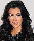 Kim Kardashian-False Lashes-Hollywood, Florida