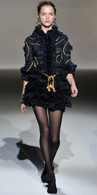 Moschino - Runway Photos - Spring 2010 Runway at InStyle.com from fashiondesigners.instyle.com