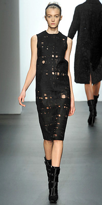 Calvin Klein - Runway Photos - Fall 2009 Runway at InStyle.com :  designer clothes fall shoes designer clothing