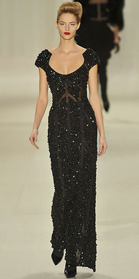 Elie Saab - Runway Photos - Fall 2009 Runway at InStyle.com :  elie saab
