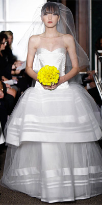 Carolina Herrera - Bridal Gown Collections - Spring 2010 Bridal Photos at InStyle.com