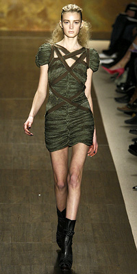 Fashion Designers - Runway Photos - Fall 2009 Runway at InStyle.com :  chic dramatic dress unusual