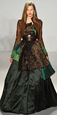 Fashion Designers - Runway Photos - Fall 2009 Runway at InStyle.com :  fashion accessory dresses accessories shoes