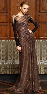 Fashion Designers - Runway Photos - Fall 2009 Runway at InStyle.com :  chic designers gold vintage