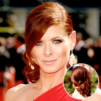 Debra Messing - Best Hair - 2009 Emmy Awards
