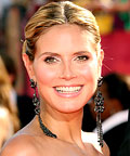 Heidi Klum - Lorraine Schwartz - Best Jewelry - Emmy Awards 2009